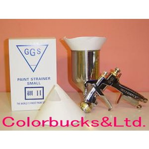 GGS ペイントストレーナー 細目 綿120メッシュ 100枚入り|colorbucks