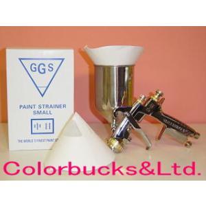 GGS ペイントストレーナー 中目 綿100メッシュ 100枚入り|colorbucks