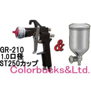 恵宏 GR-210 (1.0 1.2口径)+ST250カップ グラデーションガンセット(旧PRECISION)|colorbucks
