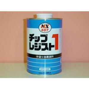 コーザイ チップレジスト 1 NX487 ホワイト 1kg 車両用防錆剤 |colorbucks
