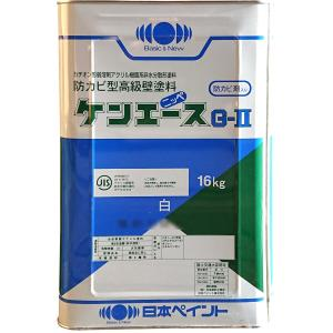 日本ペイント ケンエースG2 16kg ツヤ消し 白 水性反応硬化形エマルション塗料
