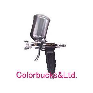 扶桑精機 RS-506N リッチエイト 丸吹 平吹両用スプレーガン Φ1.1mm口径 150ccカップ付属 ラッカー用|colorbucks