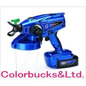 グラコ TrueCoat Pro-X Fine Finish 塗料用電動エアレススプレーガン  トゥルーコート プロエックス ファインフィニッシュ|colorbucks