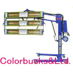 テーピ販売 UG600-B ウルトラウィン カーボンヒータ式赤外線塗装乾燥機  低VOC、水系まであらゆる塗料に|colorbucks