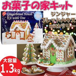 【SALE】Create a Treat★お菓子の家 ジンジャーブレッドハウスキット 大容量 1.3...
