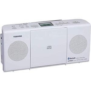 東芝 CDラジオ Bluetooth搭載 TY-CW26 (W) ホワイト