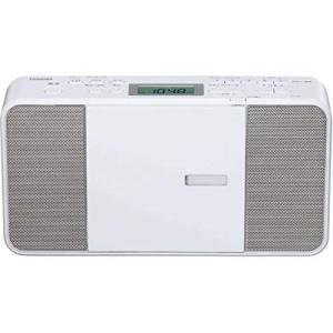 東芝 CDラジオ TY-C251(ホワイト)