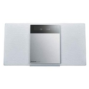 パナソニック ミニコンポ FM/AM 2バンド Bluetooth対応 4GBメモリー内蔵 ホワイト...