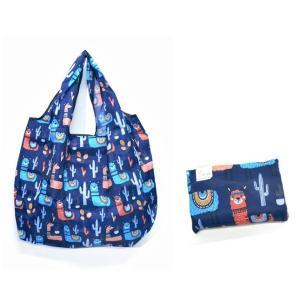 【値下げしました】折りたたみ コンパクト エコショッピングバッグ エコバッグ マイバッグ ナイロン L 【買い物袋】 colorful-story