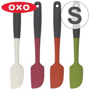 フッ素加工のフライパンや鍋でも安心してお使い頂ける、シリコン製のスパチュラです。小さいボウルやミキサ...
