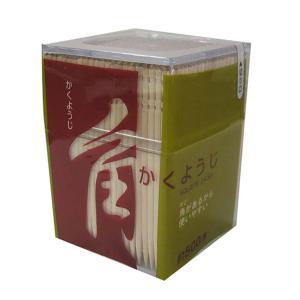 爪楊枝 つまようじ 角楊枝 500本入り ( 使い捨て ようじ )|colorfulbox