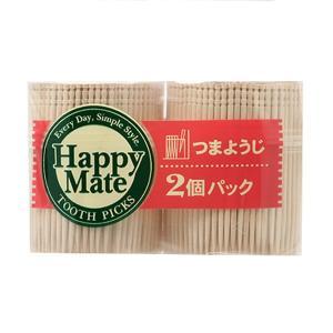 爪楊枝 つまようじ 500本入り 2個パック ( 使い捨て ようじ ) colorfulbox