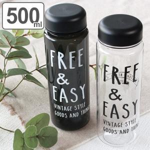 水筒 クリアボトル 500ml 直飲み水筒 NATIVE HEART FREE&EASY ( ウォーターボトル プラスチックボトル スポーツボトル )|colorfulbox