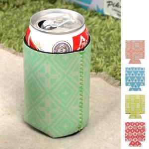 缶ホルダー コンビニ コーヒー カップ FiNE DAYS ファインデイズ パターン柄 350ml缶用 ( 缶クージー 缶 ホルダー 保冷 保温 缶クーラー )|colorfulbox