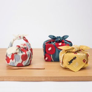 風呂敷 チーフ 竹久夢二 48cm ふろしき ナフキン ランチクロス ( お弁当包み 猫 ねこ )|colorfulbox|09