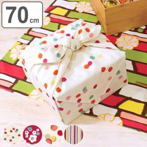 風呂敷 綿モダンガール 二巾 70cm ふろしき 中判 ( エコバッグ お弁当包み 綿 ランチクロス )|colorfulbox