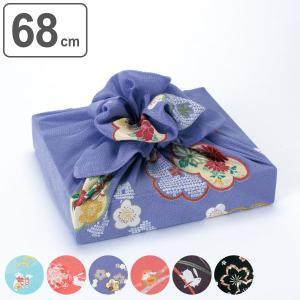 風呂敷 二巾 レーヨン ちりめん こよみ 68cm ふろしき 中判 ( エコバッグ お弁当包み ランチクロス )|colorfulbox