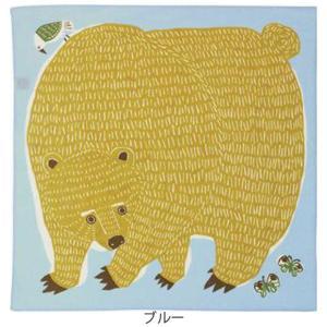 風呂敷 中巾 チーフ katakata むすび くまととり 50cm ふろしき ナフキン ランチクロス 綿100% ( 綿 包み お弁当包み キッチンクロス )|colorfulbox|02