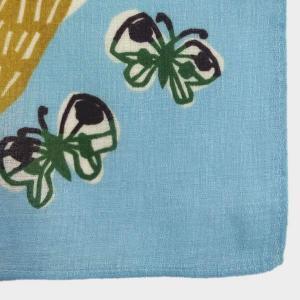 風呂敷 中巾 チーフ katakata むすび くまととり 50cm ふろしき ナフキン ランチクロス 綿100% ( 綿 包み お弁当包み キッチンクロス )|colorfulbox|04