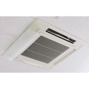 エアコン 風よけ カバー ホワイト ( 風除け 風向き 調整 室内 エコ ECO 節電 冷房 暖房 )|colorfulbox|06