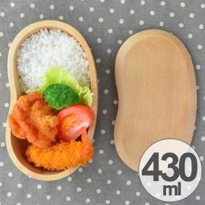 お弁当箱 くりぬき弁当箱 ビーンズ 430ml 一段 木製 ( 和風弁当箱 木 弁当箱 おすすめ )|colorfulbox