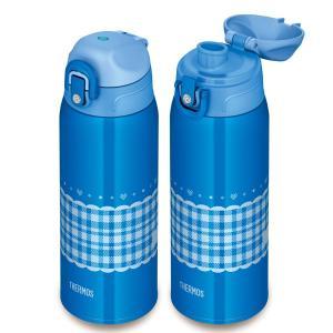 水筒 サーモス thermos 真空断熱 2wayボトル 直飲み&コップ付 カバー付 800ml ストラップ付 FHO-800WF ( 保温 保冷 子供用 )|新着K|05|colorfulbox|05