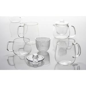 キントー KINTO カップ UNITEA ユニティ S 350ml ガラス ( カップ コップ 食洗機対応 ガラス ティーウェア  )|colorfulbox|05