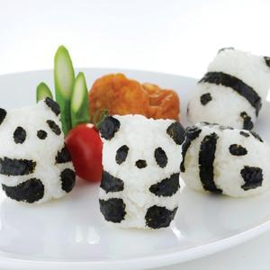子供たちに大人気の、かわいい赤ちゃんパンダ型おにぎりが作れるセットです。食材は、ごはんと海苔だけ!キ...