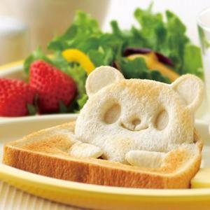 食パン抜き型 パンDEポップ!アップ! パンダ ( キャラ弁 食パン 抜き型 )|colorfulbox