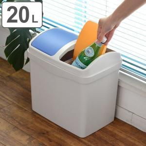 ゴミ箱 分別 ソナタスイング 20L ( ごみ箱 ダストボックス スイング ダストBOX くず入れ くずかご リビング 子供部屋 )の写真