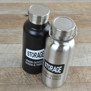水筒 ステンレスボトル 500ml STORAGE 直飲み水筒 ( ステンレス製 直飲み デザインボトル )|colorfulbox|04