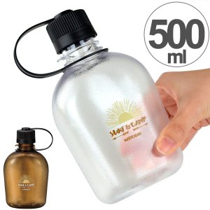 水筒 プラスチック製 クリアボトル NH キャンティーン SURF&CAMP 500ml ( 常温 ペットボトル マグボトル )|colorfulbox