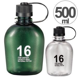 水筒 プラスチック製 クリアボトル キャンティーン ANCIENT 500ml ( 常温 ペットボトル マグボトル )|colorfulbox
