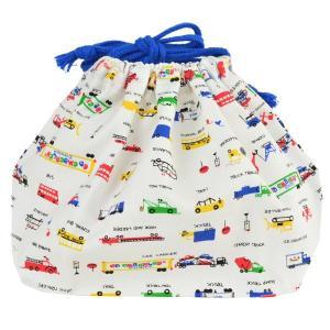 お弁当袋 日本製 ランチ巾着 エドエンバリー ワーキングカーズ 子供用 ( 給食袋 ランチボックス巾着 子供用お弁当袋 )