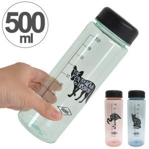 水筒 プラスチック製 ウォーターボトル 直飲み 500ml ( 常温 ペットボトル マグボトル )|colorfulbox