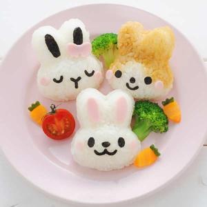 おにぎり押し型 うさぎ Mimy(ミミィ) おにぎり抜き型 キャラ弁 ( おにぎり抜き型 ご飯押し型 お弁当グッズ )|colorfulbox