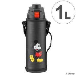 水筒 直飲み ダイレクトドリンクボトル 1000 ミッキーマウス 保冷専用 カバー付 ( ステンレス製 スポーツボトル 1L )|colorfulbox