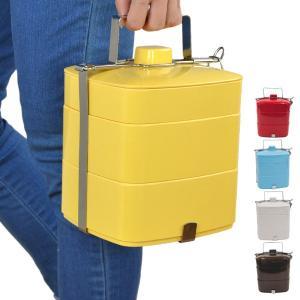 ピクニックランチボックス メラミン製 お弁当箱 3段 ( 重箱 ランチボックス オードブル重 )|colorfulbox