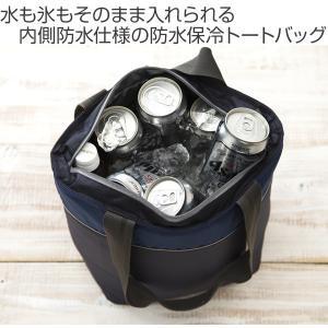 クーラーバッグ 防水トートバッグ tone トーン Mサイズ ネイビー 8L ( 保冷バッグ 保冷 クーラーボックス )|colorfulbox|02