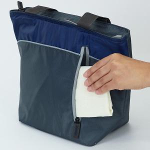 クーラーバッグ 防水トートバッグ tone トーン Mサイズ ネイビー 8L ( 保冷バッグ 保冷 クーラーボックス )|colorfulbox|06