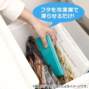 お弁当箱 ジェルクール じぇるく〜ま ランチボックス S 1段 220ml 保冷剤一体型フタ ( ランチボックス 日本製 デザートケース )|colorfulbox|04