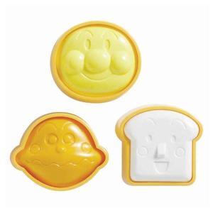 おにぎり型 3個入 アンパンマン あんぱんまん ( キャラクター 簡単キャラ弁 お弁当グッズ )|colorfulbox