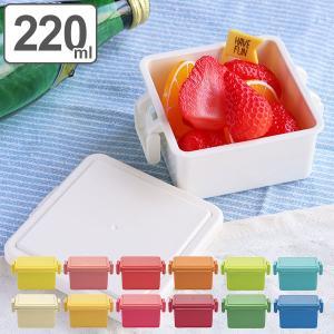 お弁当箱 1段 保冷剤一体型 ジェルクール GEL-COOL スクエア ライトカラー S 220ml ( 弁当箱 ランチボックス 日本製 デザートケース おすすめ )|colorfulbox