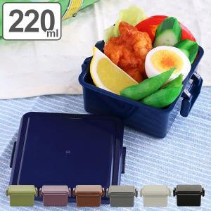 お弁当箱 1段 保冷剤一体型 ジェルクール GEL-COOL スクエア ダークカラー S 220ml ( 弁当箱 ランチボックス 日本製 デザートケース )|colorfulbox