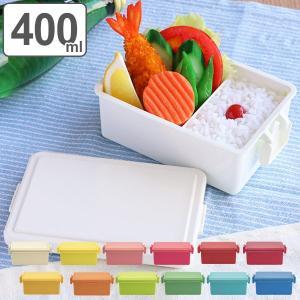お弁当箱 1段 保冷剤一体型 GEL-COOL スクエア ライトカラー L 400ml 保冷剤 ( 弁当箱 ランチボックス レンジ対応 デザートケース ジェルクール )|colorfulbox
