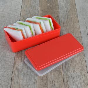お弁当箱 1段 保冷剤一体型 ジェルクール GEL-COOL スクエア ライトカラー SG 500ml ( 弁当箱 日本製 保冷剤 ランチボックス ランチバンド付 )|colorfulbox|09