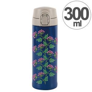 水筒 ワンプッシュマグボトル 保冷 保温 北欧 KEEP マイボトル 300ml レッドベリー ( ステンレス 保冷保温 ステンレス製 ) colorfulbox