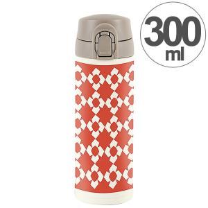 水筒 ワンプッシュマグボトル 保冷 保温 北欧 KEEP マイボトル 300ml クロシェット ( ステンレス 保冷保温 ステンレス製 ) colorfulbox