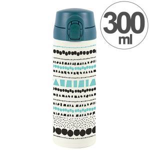 水筒 ワンプッシュマグボトル 保冷 保温 北欧 KEEP マイボトル 300ml クリック ( ステンレス 保冷保温 ステンレス製 )|colorfulbox