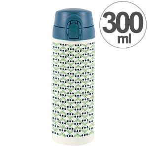 水筒 ワンプッシュマグボトル 保冷 保温 北欧 KEEP マイボトル 300ml ブロム ( ステンレス 保冷保温 ステンレス製 )|colorfulbox